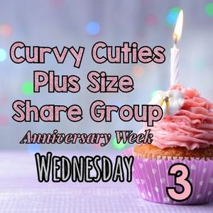 Tops - 2/20 (CLOSED) PLUS SHARE GROUP: Curvy Cuties